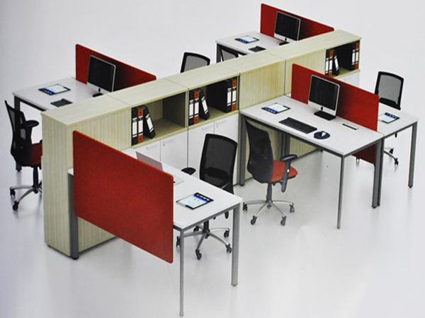 Bàn chân sắt thích hợp cho văn phòng hiện đại