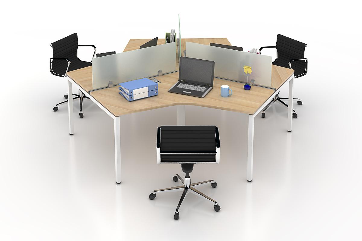 Những module bàn làm việc sẽ an toàn cho mùa Covid