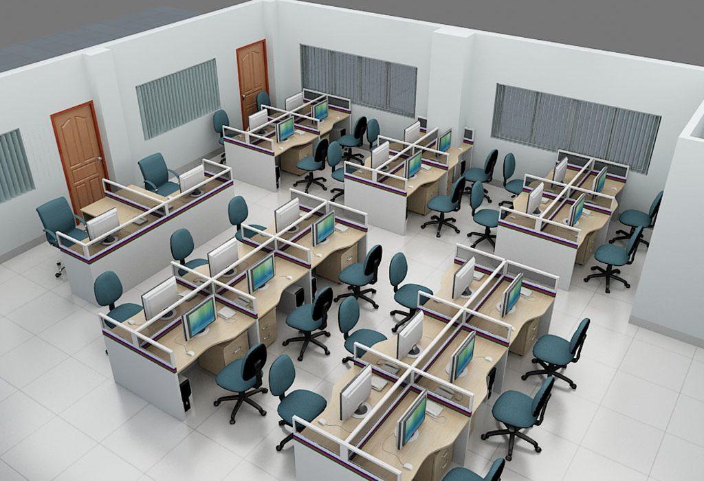 Thiết kế bàn làm việc an toàn thời Covid