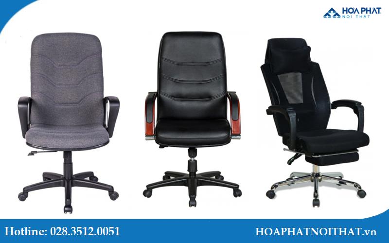 Những chất liệu ghế trưởng phòng được ưa chuộng
