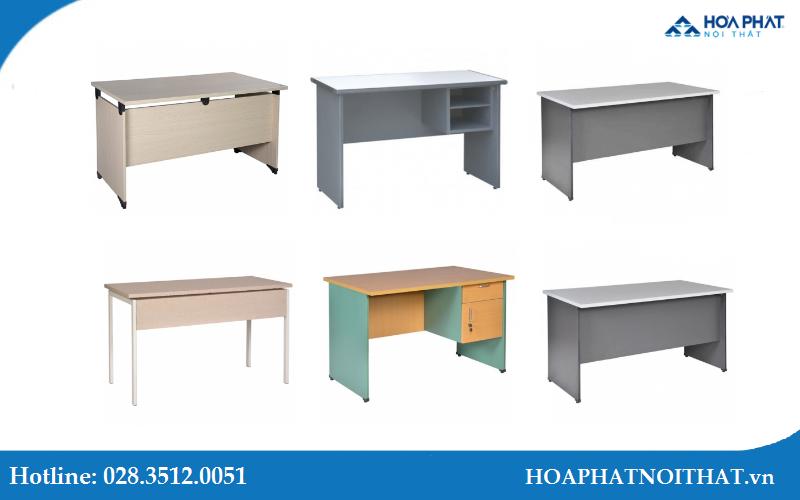 Gợi ý 6 mẫu bàn nhân viên gỗ Hòa Phát sử dụng phổ biến