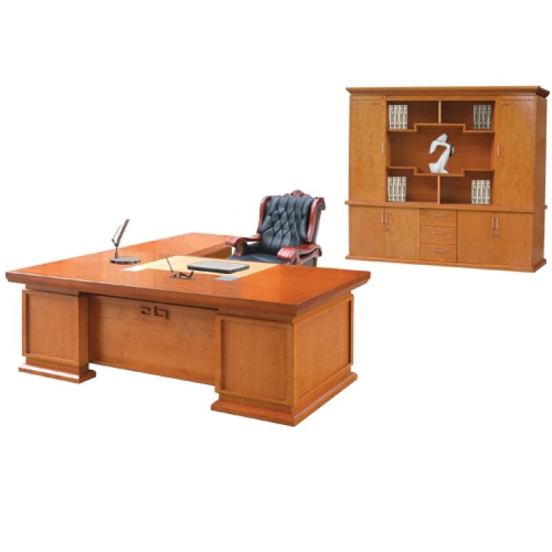 Bộ bàn tủ giám đốc Veneer DC2448V6