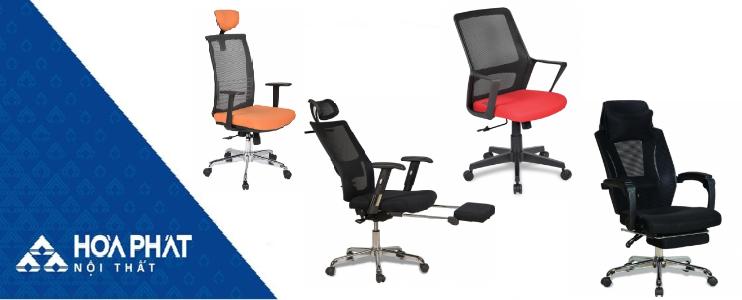 Mẫu ghế văn phòng hỗ trợ tốt thắt lưng