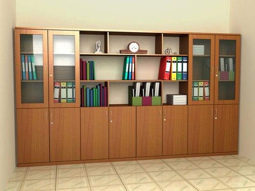 5 mẫu tủ gỗ Hòa Phát giúp lột xác diện mạo văn phòng làm việc